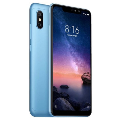 Xiaomi Redmi Note 6 Pro 64Gb+4Gb Blue Dual LTE Global Version